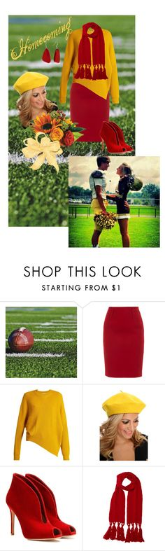 """""""Friday Night LIghts"""" by paula-parker ❤ liked on Polyvore featuring Paule Ka, STELLA McCARTNEY, Gianvito Rossi, Mulberry and Kim Rogers"""