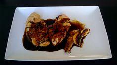 Pechugas de pollo a la mostaza y Miel de Agave