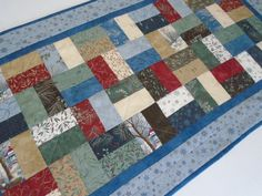 Country Christmas Quilted Table Runner by ForgetMeNotQuilteds