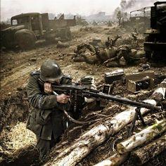 GERMAN MG 42 - SEVASTOPOL 'Grossdeutschland' Division