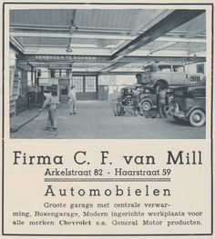 Advertentie Mooi Gorinchem augustus 1934 - C.F. van Mill Arkelstraat General Motors, Holland, Amsterdam, Movie Posters, The Nederlands, Film Poster, The Netherlands, Netherlands, Film Posters