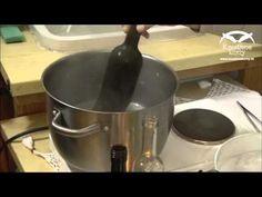 Rezanie fliaš-svietniky z odrezaných fliaš - YouTube