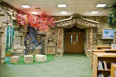 "Nothing says ""Magic happens here"" like this entrance to a story room.(Brentwood Children's Library-119 by CajunKev, via Flickr)"