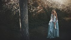 Rococo inspired dress. Original design Photo by Rebeca Saray  Styling: Fairy Cave