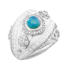 Fabergé Summer in Provence Diamond Ring #Fabergé #SummerinProvence #opal #ring