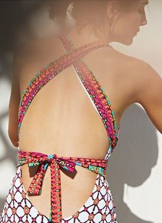 'Venice Beach' One-Piece Swimsuit » Love the back!