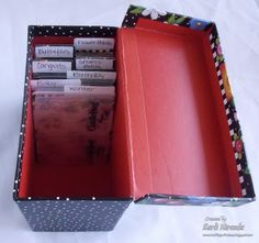 Crafting with Class: Organization: Embossing Folders Strike back (Part 2)