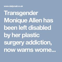 Allen transgender monique