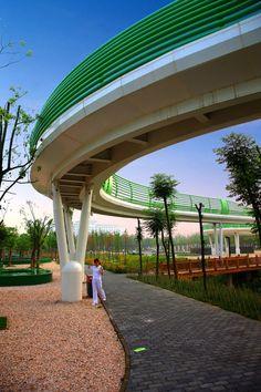 TURENSCAPE landscape architecture Suining Sleeve bridge 15 « Landscape Architecture Works | Landezine