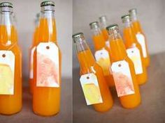 You can do this with home made punch drinks!