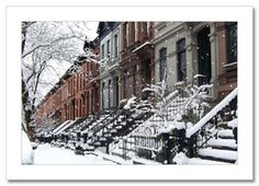 Winter in New York..gahh!!! one day.. fingers crossed lol
