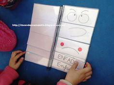 Rincón de una maestra: El libro móvil de las emociones Kids Education, Montessori, Acting, Ads, Blog, Children's Library, Monster Activities, Emotions Activities, Feelings And Emotions