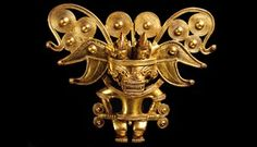 """""""Beyond El Dorado: Power and Gold in Ancient Colombia"""" exhibition at the British Museum - Alain. Ancient Artefacts, Ancient Civilizations, Colombian Gold, Hispanic Art, Hispanic Culture, Golden Treasure, Going For Gold, Exhibition Display, Ancient Jewelry"""