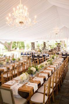 Elegant Charleston Plantation Wedding Under a Tent | Gillian Ellis Photography on @acoastalbride via @aislesociety