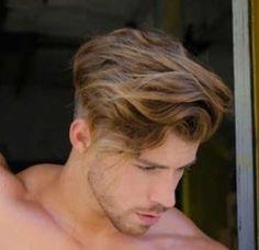 hair beauty - 41 Newest Wavy Hair Style Ideas For Man Brown Wavy Hair, Wavy Hair Men, Undercut Hair Men, Light Brown Hair Men, Hairstyle Fade, Wavey Hair, Pompadour Hairstyle, Frizzy Hair, Hairstyle Ideas