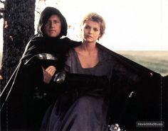 Ladyhawke - Publicity still of Rutger Hauer & Michelle Pfeiffer