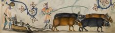 Psalter ('The Luttrell Psalter') with calendar and additional material Add MS 42130 Folio Medieval, 14th Century, Moose Art, Painting, Animals, Farming, Britain, Ms, Calendar
