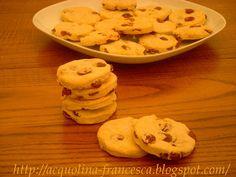 Acquolina: Biscotti alla ricotta con uvetta e cannella