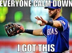 Mitch Moreland, Texas Rangers Baseball, #NeverEverQuit