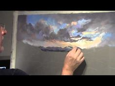Painting Clouds in Pastel - YouTube