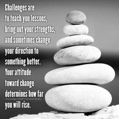 Change is inevitable. Attitude is optional.