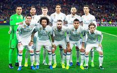 Equipos de fútbol: REAL MADRID contra Nápoles 15/02/2017