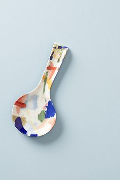Painter's Palette Spoon Rest $14.00 https://www.anthropologie.com/shop/painters-palette-spoon-rest?category=SEARCHRESULTS&color=095