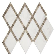 Caliborne Taupe Mosaic - Marble Mosaics Tile - The Tile Shop