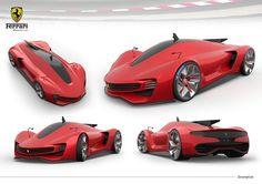 Ferrari Chinetti LMP1, BA Thesis on Behance - https://www.luxury.guugles.com/ferrari-chinetti-lmp1-ba-thesis-on-behance/