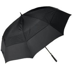 Windproof Umbrella with Large 64 inch Vented Canopy  Golf Size >>> Click image to review more details.