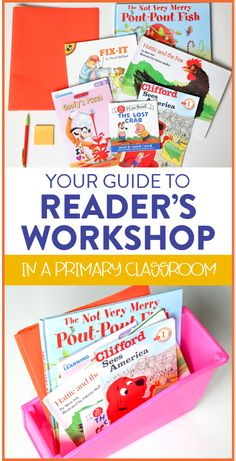 This Reader's Workshop is all you'll need to successfully kick off and implement the reading workshop method in your first grade classroom! The yearlong unit includes: 34 weeks of daily detailed lessons, guided reading activities, anchor chart ideas, and much more!