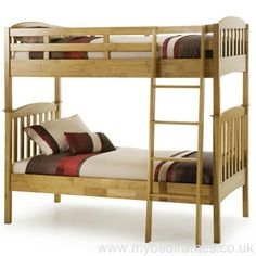 Bring your children's bedroom to life with our range of Bedroom Furniture. Shop bunk beds, children's beds, cabin beds & novelty beds for kids. Enjoy FREE and fast delivery. Pine Bunk Beds, Wooden Bunk Beds, Single Bunk Bed, Double Bunk Beds, Beds Direct, Bed Centre, Bedroom Furniture Uk, Bed Price, Childrens Beds