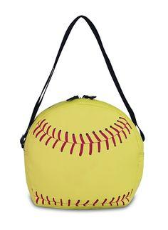This is a cooler! Softball Bags, Softball Party, Softball Crafts, Softball Quotes, Softball Players, Girls Softball, Fastpitch Softball, Baseball Mom, Softball Things
