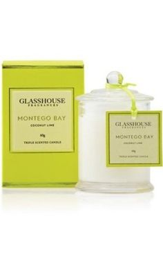 Glasshouse Candles Montego Bay –My favourite candle of all time. Love the way the scent drifts through the house.