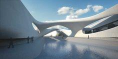 Museum of the Mediterranean by Zaha Hadid – Reggio Calabria, Italy