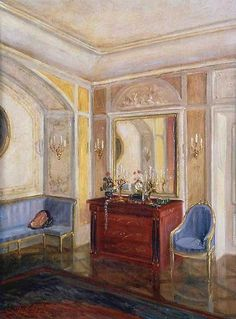 Walter Gay  18th Century French Interior  Late 19th - early 20th century