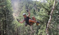 Zoom down Colorado's longest and fastest ziplines, reaching speeds up to 55 miles per hour at up to 230 feet above the forest floor.