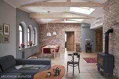cegłą w łazience - Szukaj w Google Doors And Floors, Floor Ceiling, Red Sofa, Floor Design, Brick Wall, Interior Decorating, Sweet Home, Wall Decor, Design Inspiration