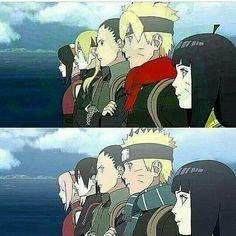 Naruto y Boruto Naruto Gif, Naruto Uzumaki Shippuden, Naruto Sasuke Sakura, Sarada Uchiha, Naruto Cute, Naruto Funny, Anime Meme, Otaku Anime, Manga Anime