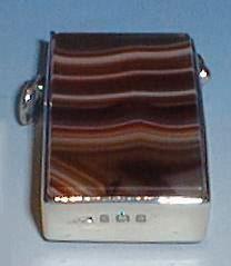 Edwardian Silver Vesta Case - Daniel Bexfield Antiques.
