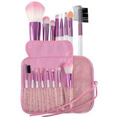 Pro 8pcs Makeup Brushes Set Powder Foundation Eyeshadow Eyeliner Lip Cosmetic #ad