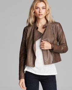 Lighten up your look with Bb Dakota's faux leather jacket with moto-like quilting and a fresh cropped silhouette. Vegan Leather Jacket, Faux Leather Jackets, Bb Dakota Jacket, Sequin Jacket, Jackets Online, Moto Jacket, Jackets For Women, Bourbon, Quilting