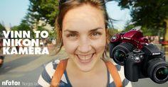Deltar du sammen med meg kan vi vinne sammen. Premien er to Nikon D3300 speilreflekskamera! Ved å delta melder man seg på Nfoto.no sitt nyhetsbrev.