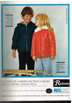 Advertising Advertising 1969 THE Coats For Kids LA Redoute | eBay