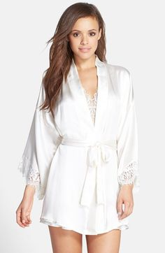 84eb4ed8fb Hanky Panky  Lady Catherine  Silk Satin Robe available at  Nordstrom Pyjama  Satin