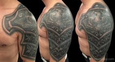Image result for armor tattoo designs