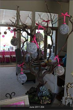 Leopard & Zebra Print Ornaments