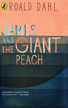 """James and the Giant Peach"" by Roald Dahl on Textbooks.com #textbooks #bookdesign"
