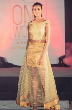 Organza skirt and crop by  @tiarabyroshinishah