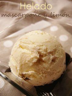 Mascarpone lemon ice cream